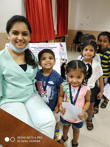 Dental Check-up Camp @ KB -  Kohinoor Blossoms