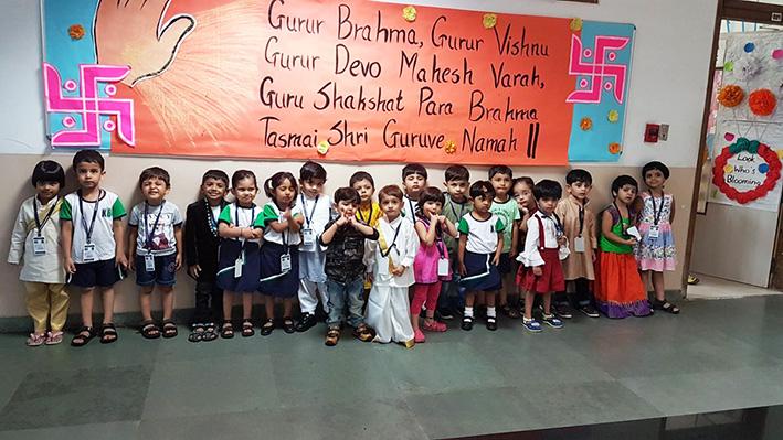Guru Purnima Celebrations -  Kohinoor Blossoms