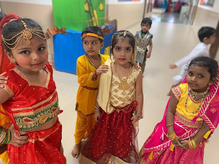 Janmashtami Celebration -  Kohinoor Blossoms