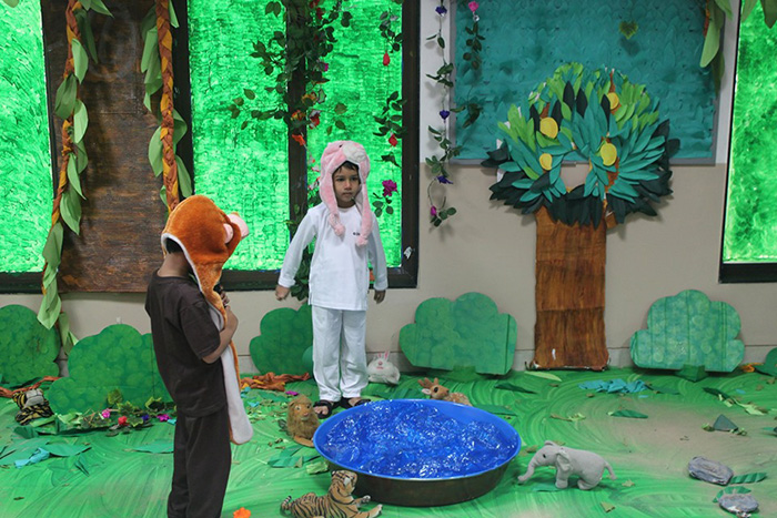Think Blue Go Green - Project Day -  Kohinoor Blossoms